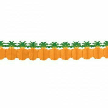 PINEAPPLE PAPER GARLAND - H6
