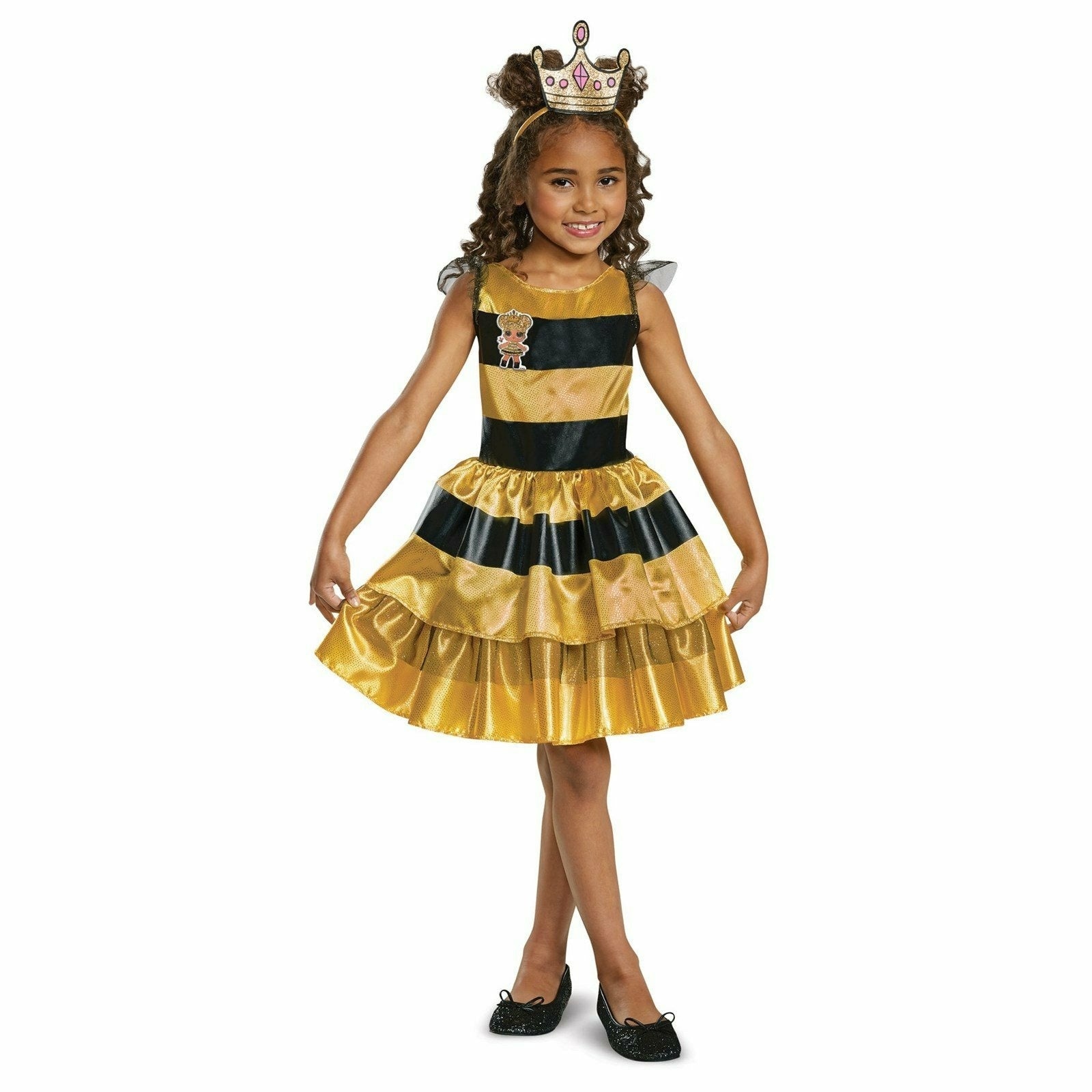 Girls L.O.L Queen Bee Child Costume