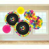 RAINBOW FLORAL DECOR - H8