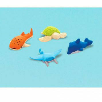 Sea Animal Erasers