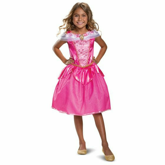 Girls Sleeping Beauty Aurora Costume