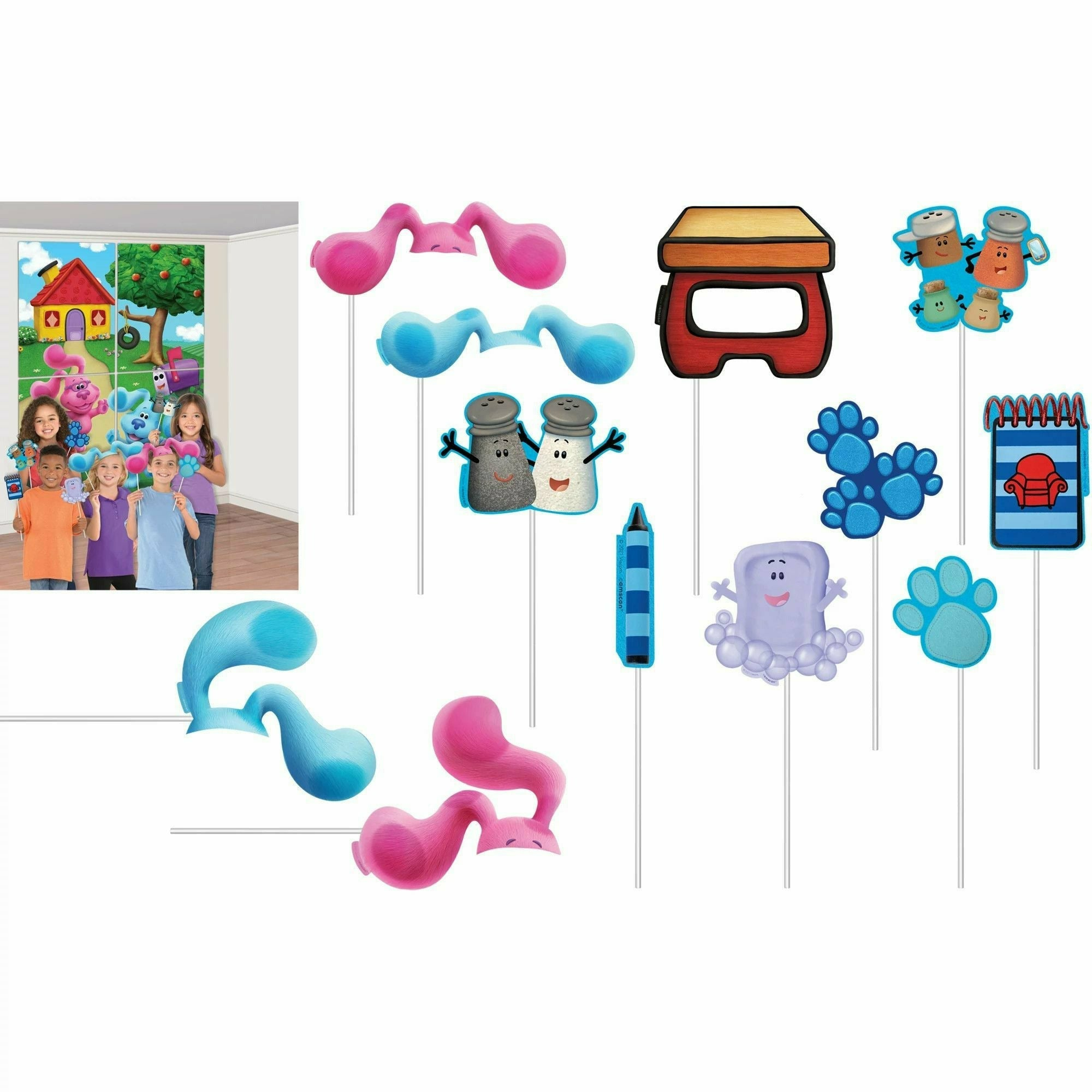Blues Clues Scene Setters® with Props
