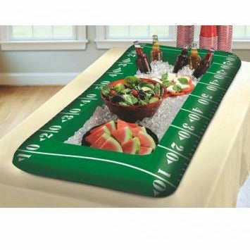 Football Inflatable Tabletop Cooler