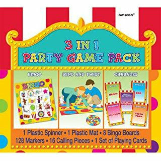 3 IN 1 PARTY GAME PACK