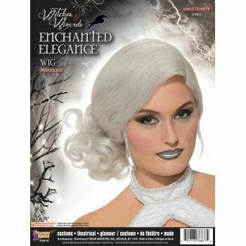 White Enchanted Elegance Wig