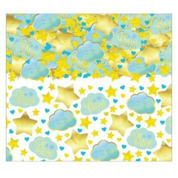 Blue Hello World Confetti