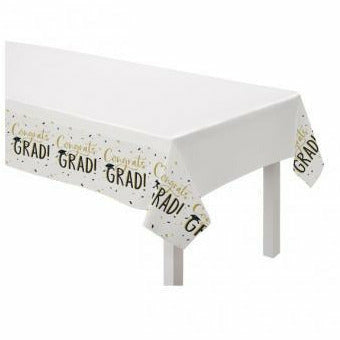 Grad Hats Off! Paper Table Cover