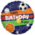"482 18"" Sports Happy Birthday Foil"