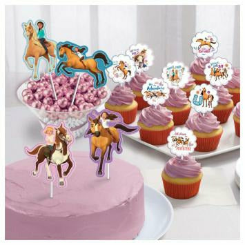 SPIRIT RIDING FREE CAKE TOPPER