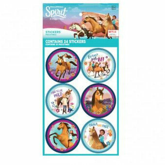 Spirit Riding Free Stickers 4 Sheets