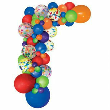Multi Color Balloon Garland Kit