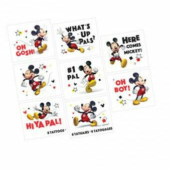 Mickey Mouse Tattoos 8ct