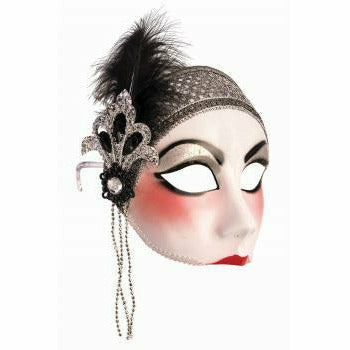 Flapper Half Face Mask