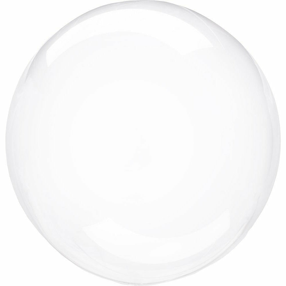 "959 Crystal Clearz Petite Clear 10"" Balloon"