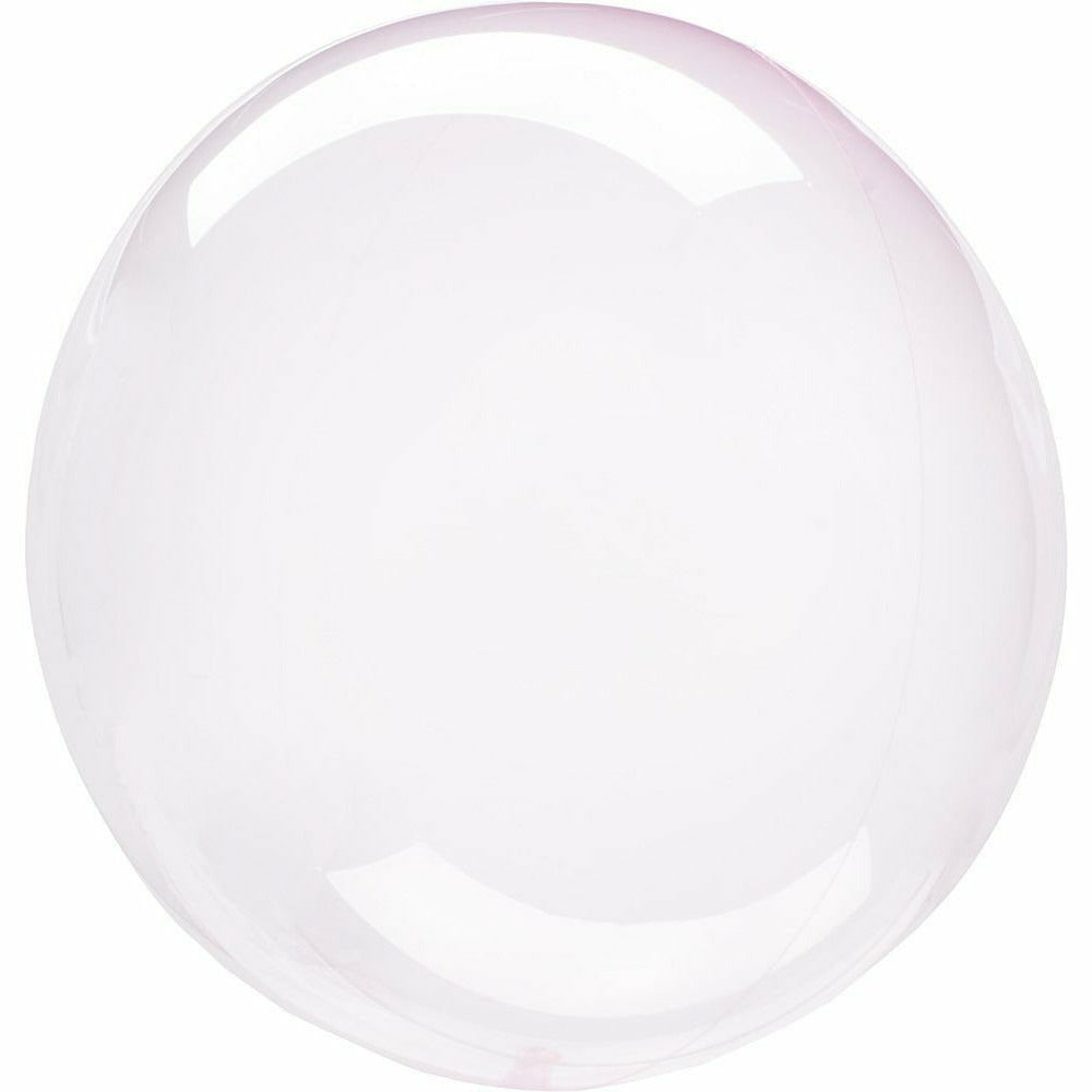 "958 Crystal Clearz Petite Light Pink 10"" Balloon"