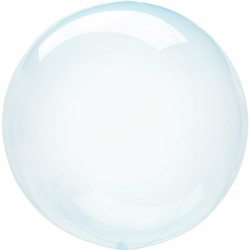 "954 Crystal Clearz Petite Blue 10"" Balloon"