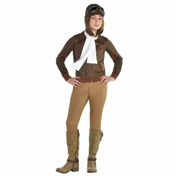 Girls Amelia Earhart Costume