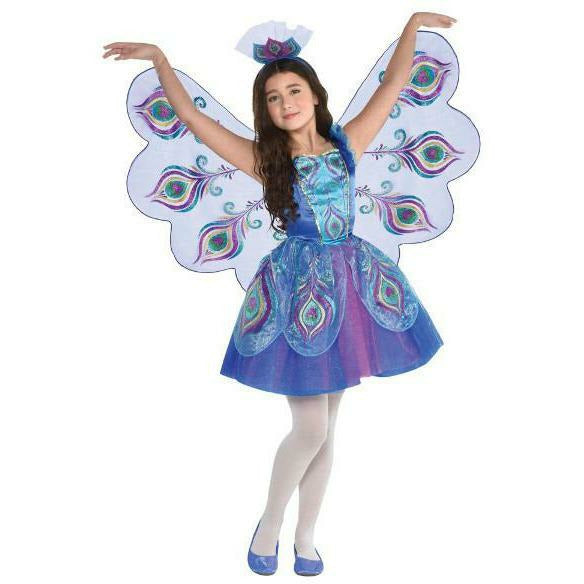 Girls Pretty Peacock Costume