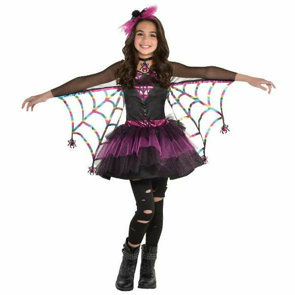 Girls Miss Wicked Web Costume