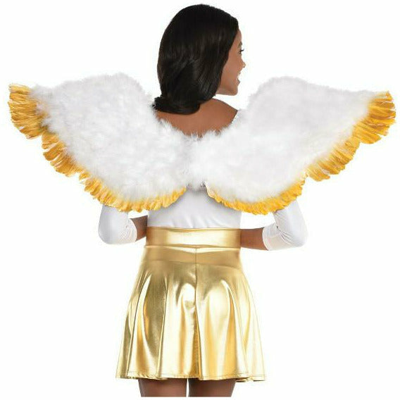 Angel Gold Tip Wings