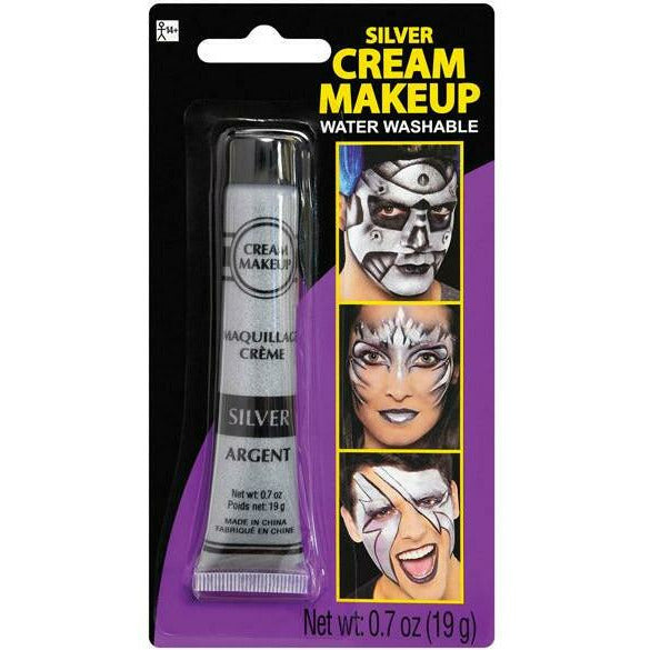 Silver Metallic Makeup Cream