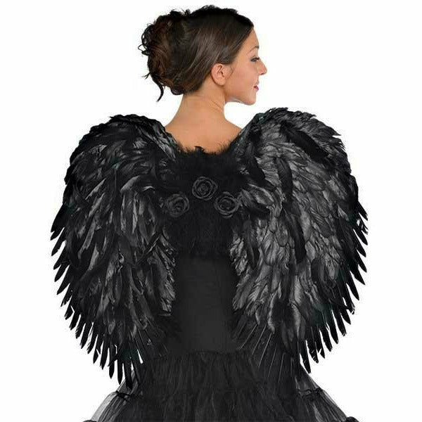 Dark Angel Deluxe Feather Wings
