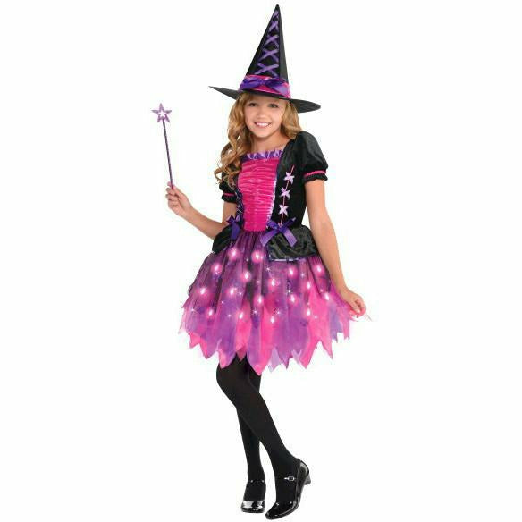 Girls Sparkle Witch Costume - Q7