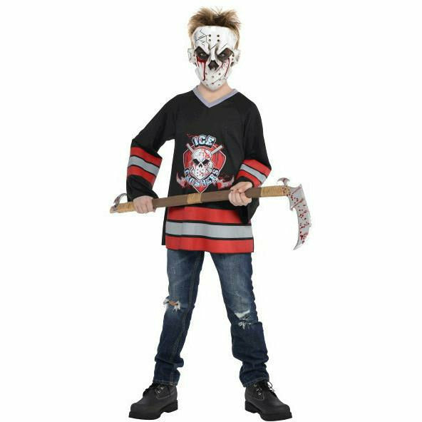Boys Bloody Face Off Costume