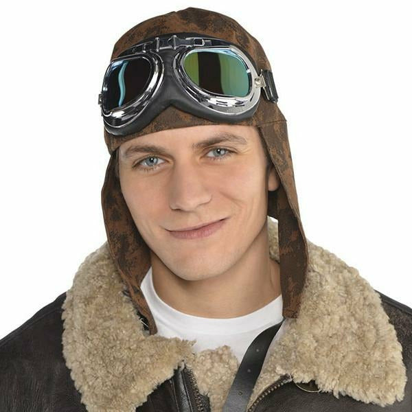 Aviator Hat With Goggles