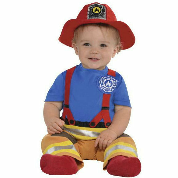 Infant First Fireman Costume