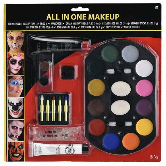 All In One Halloween Makeup Kit