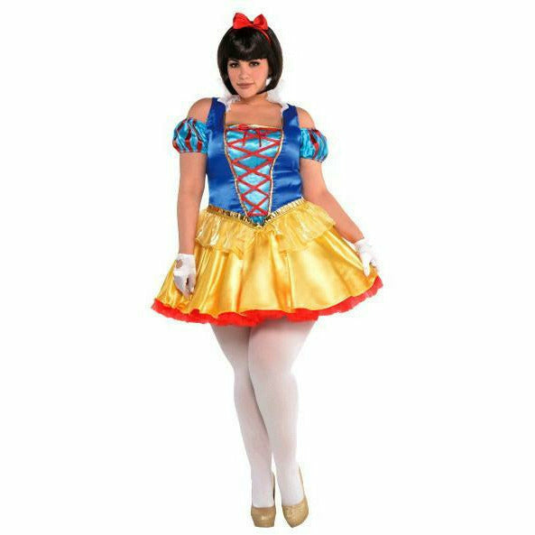 Womens Snow White Plus Costume