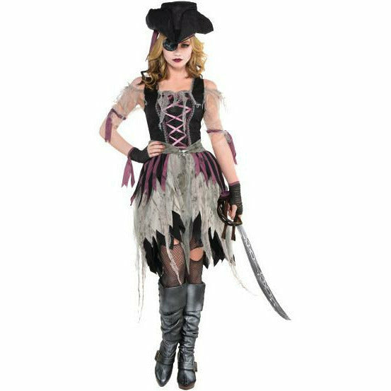 Womens Haunted Pirate Wench Costume