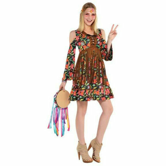 Womens Flower Power Hippie