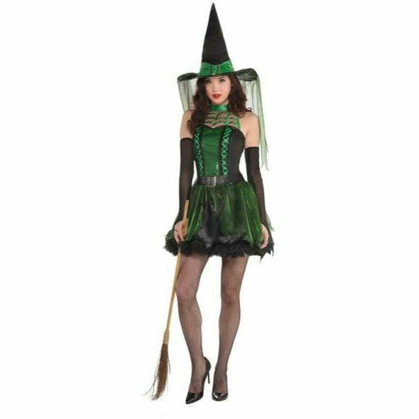 Womens Spell Caster Witch Costume