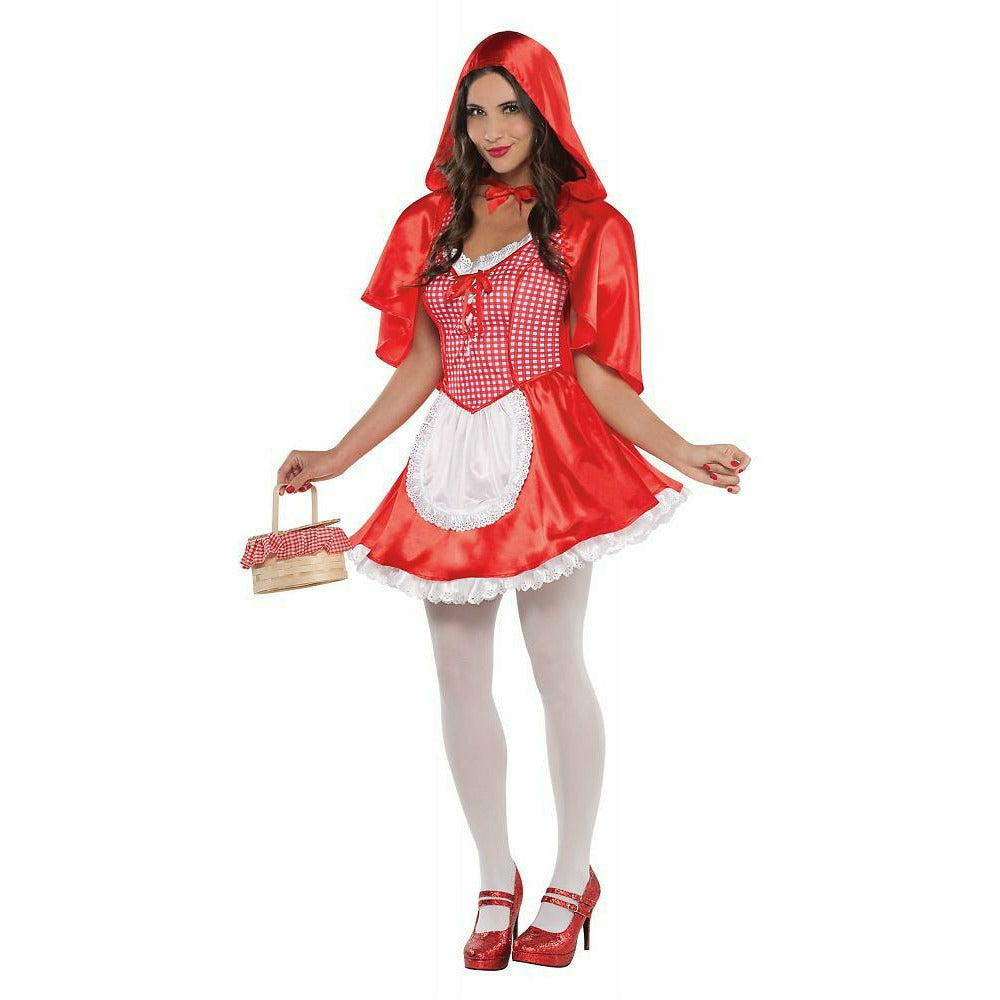 Womens Miss Red Riding Hood Costume