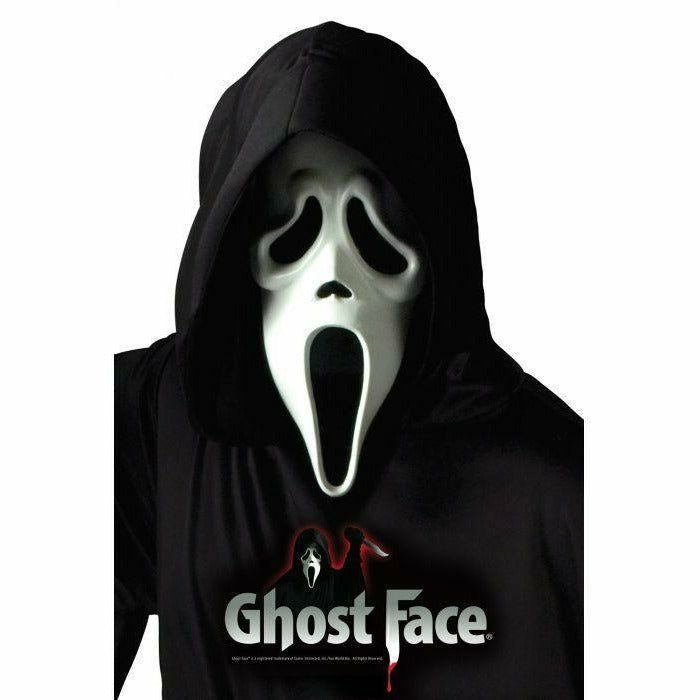 T1 Ghost Face® Mask w/ Shroud