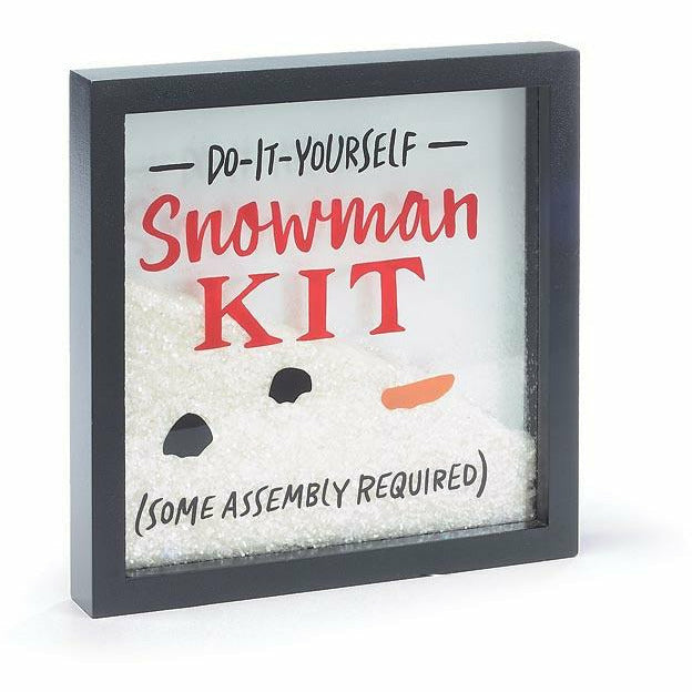 DO IT YOURSELF SNOWMAN KIT