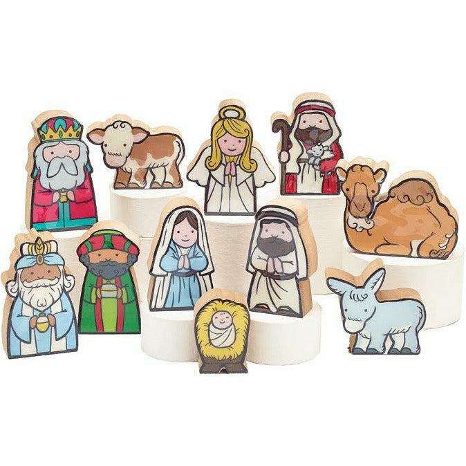 KID LIKE 11 PIECE NATIVITY SET