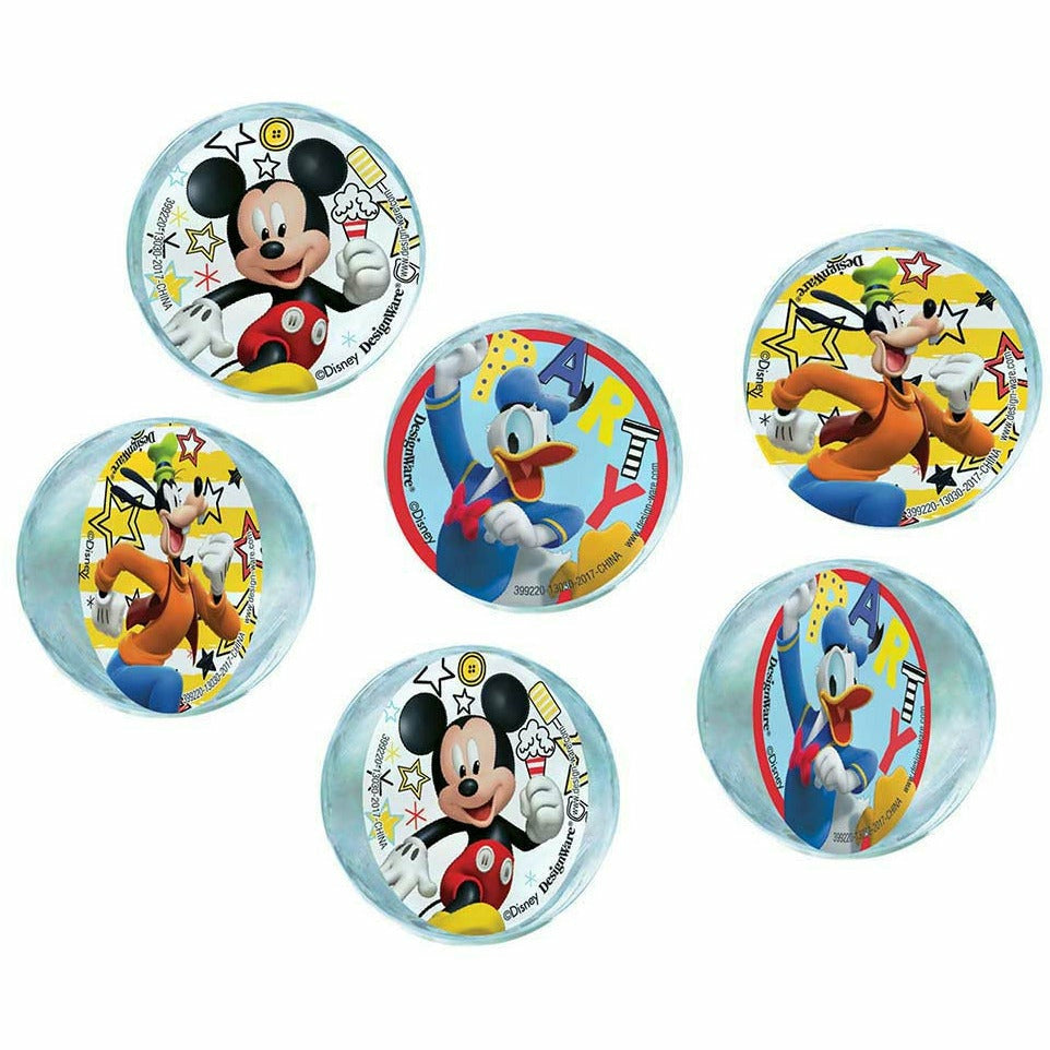 Mickey and the Roadster Racers Bounce Balls 6ct