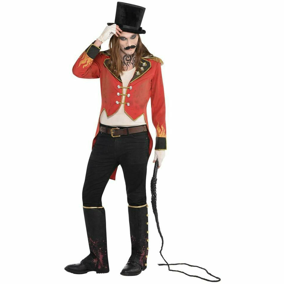 Men's Freakshow Ringmaster Tailcoat Jacket Costume