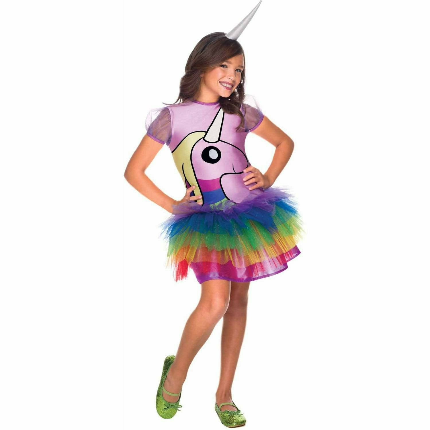 Girls Adventure Time Rainicorn Costume