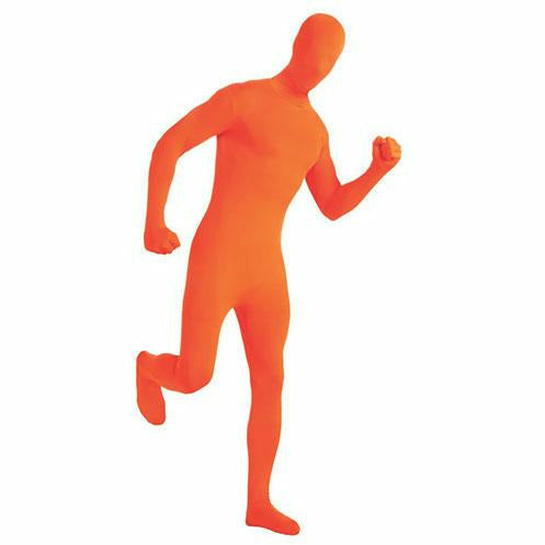 Orange 2nd Skin Suit Adult