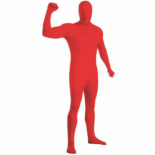 Red 2nd Skin Suit Adult