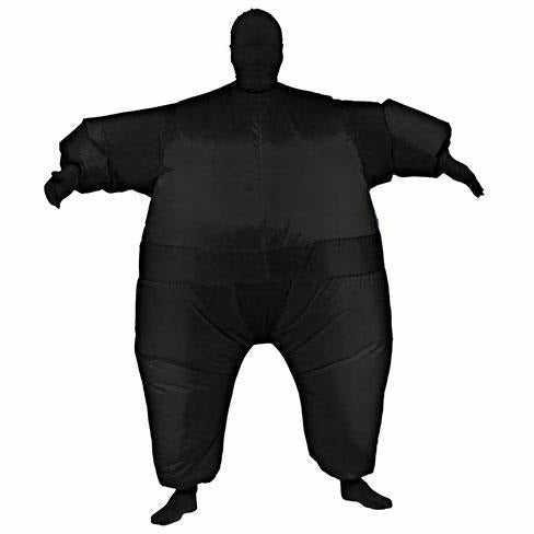 Black Inflatable Adult Costume