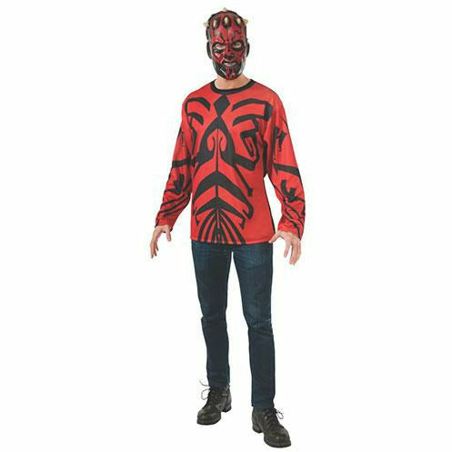 Mens Darth Maul Top and Mask