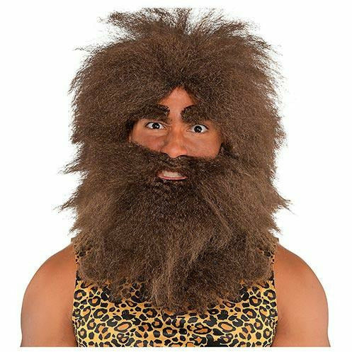 Adult Hairy Caveman Costume Accessory Kit