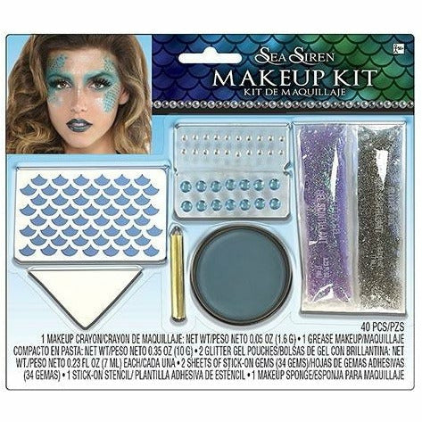 Adult Sea Siren Mermaid Makeup Kit