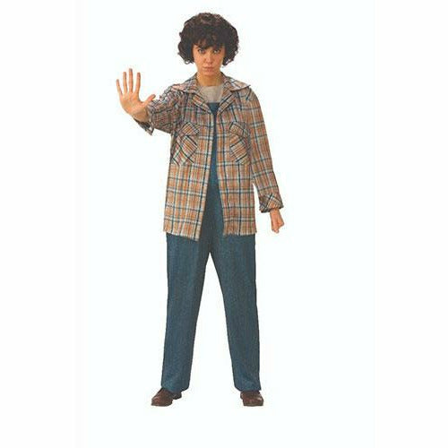 Womens Elevens Plaid Shirt Costume - Stranger Things