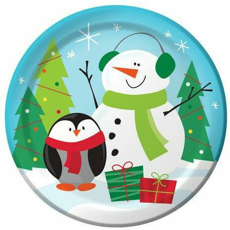Frozen Friends 7 in. Plates